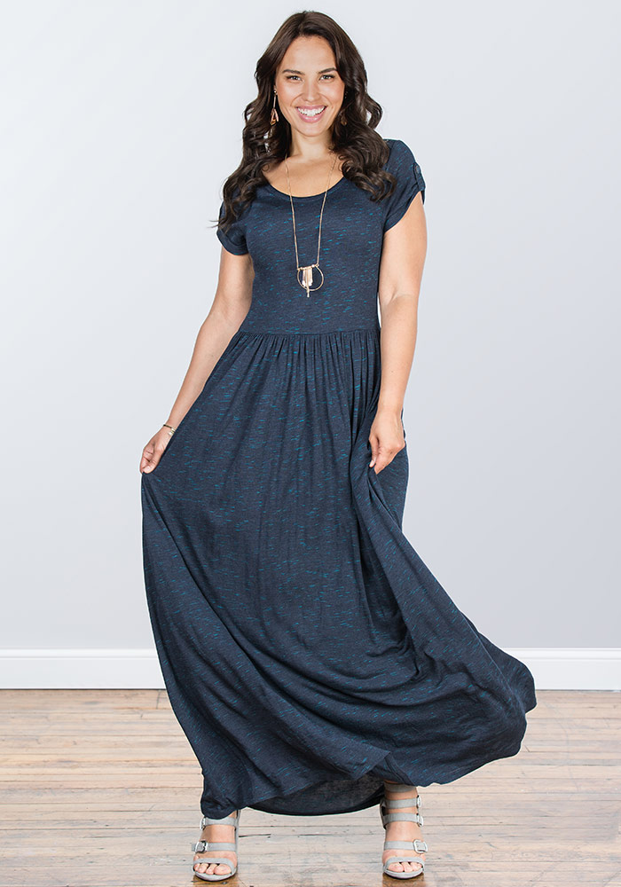 cb91de1d58a4 Deep Water Maxi Dress - Matilda Jane Clothing